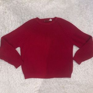 Chunky vintage red sweater xl Badge